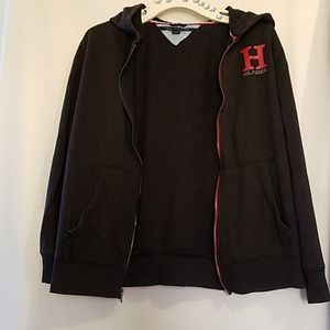 GUC TOMMY HILFIGER ZIPPED HOODED SWEATER